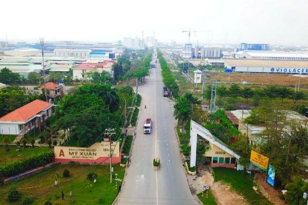 Nằm gần dự án Phú Mỹ Gold là các khu công nghiệp, cảng biển và đầu mối giao thông quan trọng.