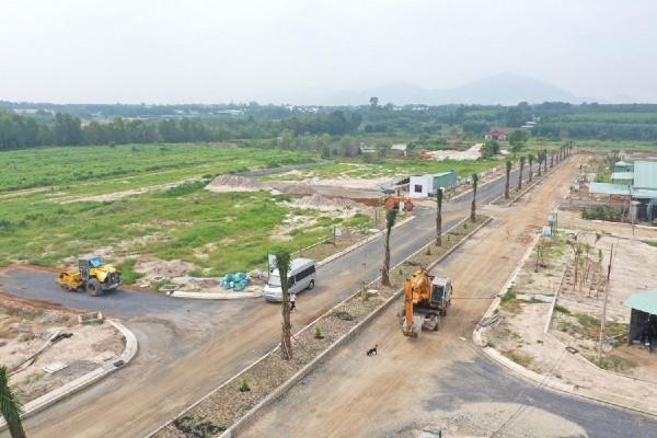 Đất nền trong dự án được quy hoạch với tính pháp lý được bảo đảm.