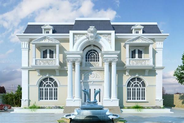 Kiến trúc tân cổ điển được nhiều người ưa chuộng bởi sự cổ kín nhưng sang trọng.